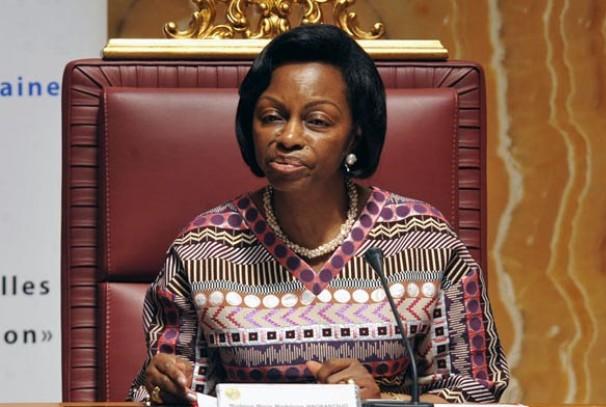 Marie Madeleine Mborantsuo, Présidente de la Cour Constitutionnelle du Gabon