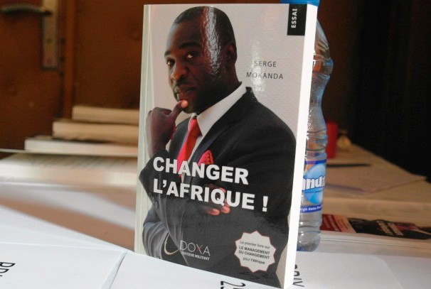 Serge Mokanda à Libreville