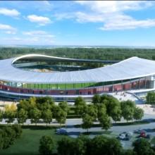le futur stade d'Oyem