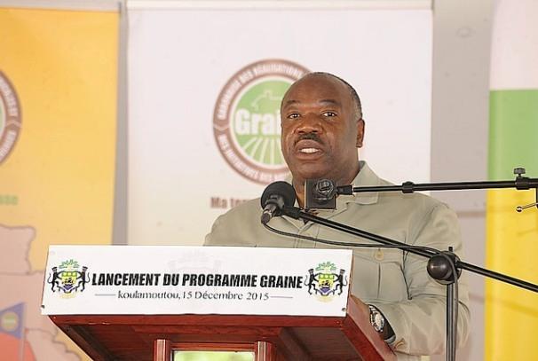 Lancement du programme GRAINE Ogooué-Lolo par Ali Bongo Ondimba