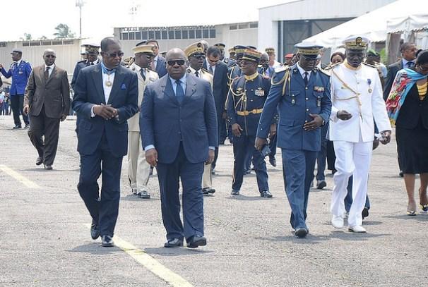 Le Président Ali Bongo Ondimba à la 14ème édition des journées de la défense