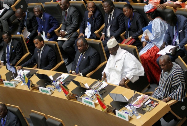 Ali Bongo Ondimba au 26ème sommet de l'UA