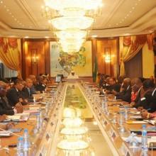 Ali Bongo Ondimba préside le Conseil des ministres du vendredi 29 janvier 2016