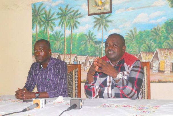 Dieudonné Minlama Mintogo à Mouila