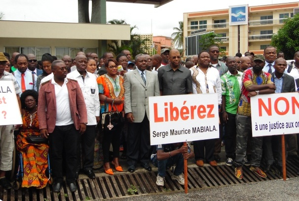 Les amis et la famille de Serge Maurice Mabiala