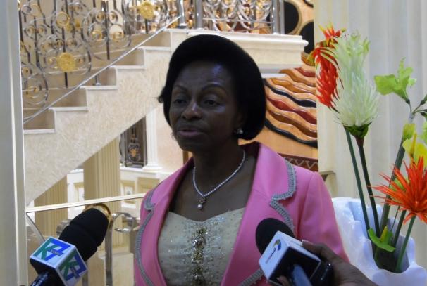 Marie Madeleine Mborantsuo, Président du CJCA
