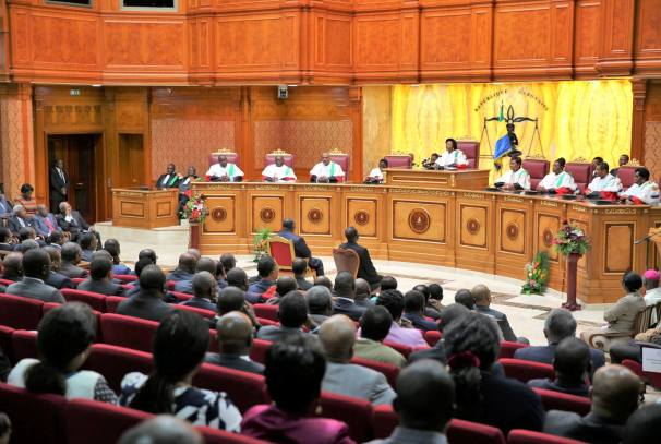 Rentrée solennelle de la Cour constitutionnelle du Gabon