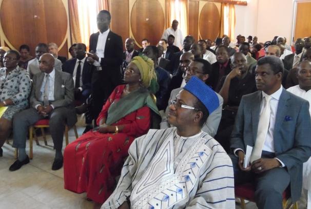 Symphorien Codjo Achode et les autres diplomates
