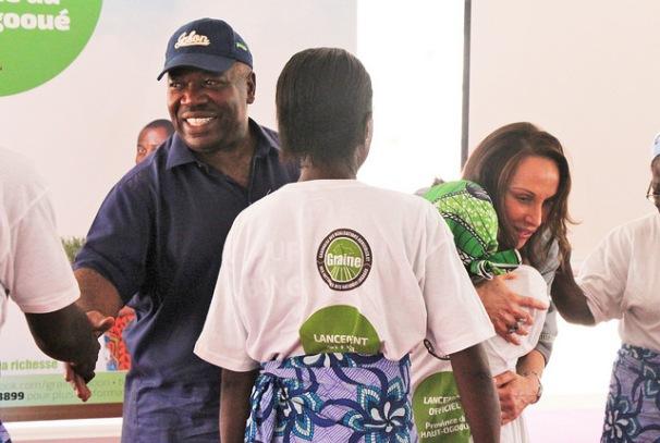 Ali Bongo Ondimba lance le programme GRAINE dans le Haut-Ogooué