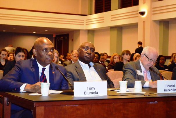 Tony O. Elumelu aux Etats Unis