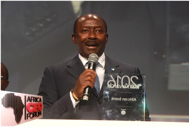 Henri-Claude Oyima, PDG du Groupe BGFIBANK