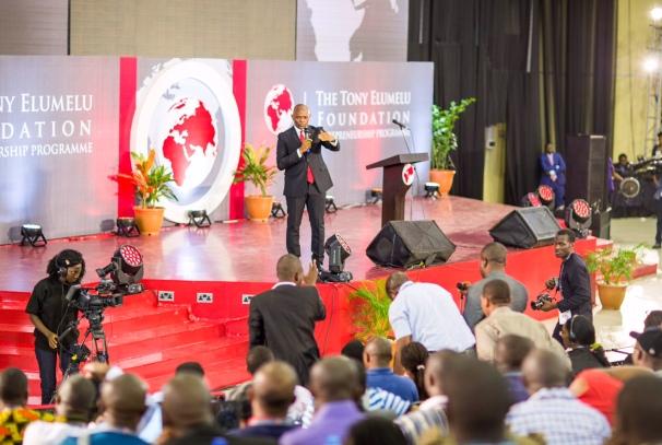 Tony Elumelu à la proclammation des résultats de TEEP 2016