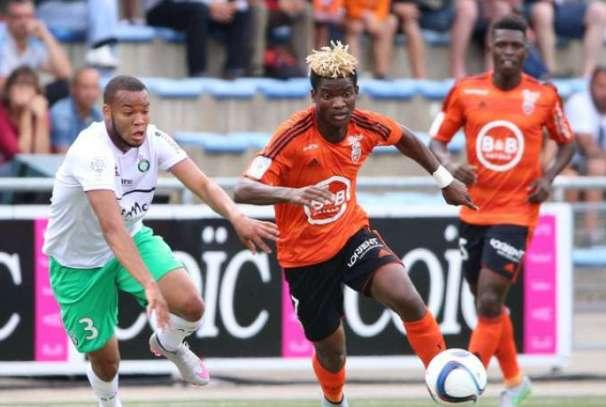 Didier Ibrahim Ndong en action