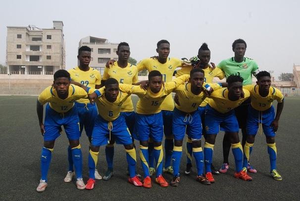 L'équipe junior du Gabon