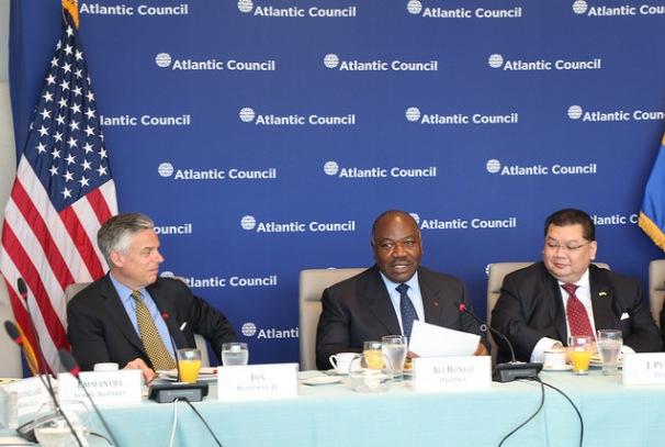 Le Président Ali Bongo Ondimba au Conseil de l'Atlantic 2 à Washington