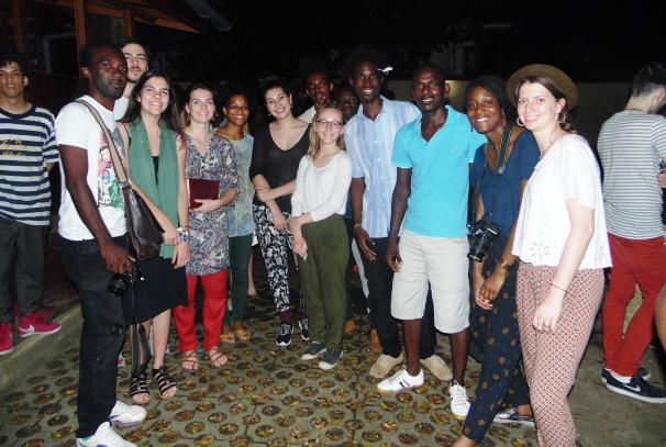 Les étudiants de l'ENSAD Paris et les Disigners gabonais à Libreville