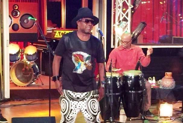 Papa Wemba sur scene