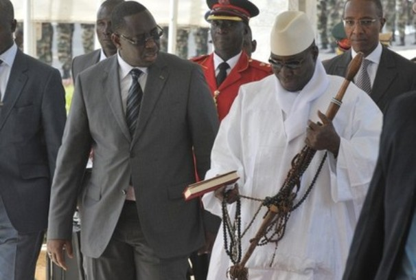 Yaya Jammeh et Macky Sall