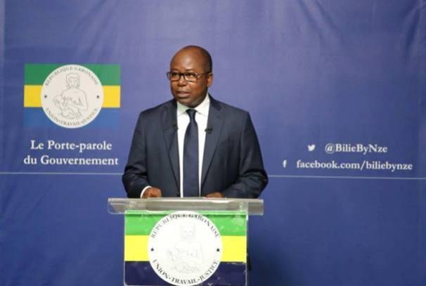 Alain-Claude Bilie By Nze, porte parole du gouvernement gabonais