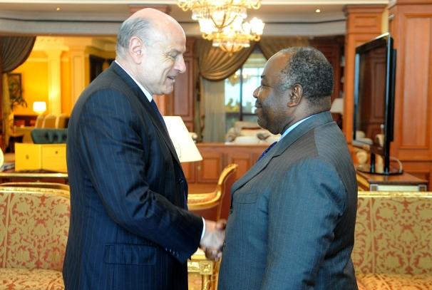 Ali Bongo Ondimba et  Jean-Marie Le Guen