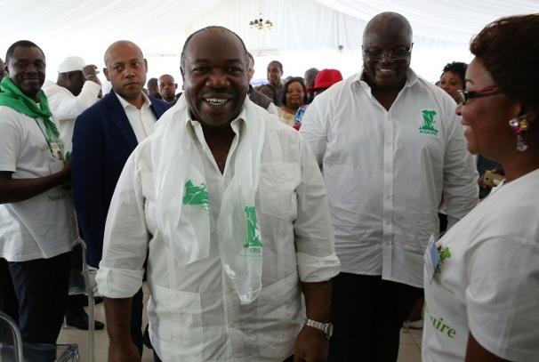 Ali Bongo investi au congrès de l'ADERE