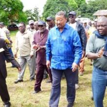 Jean Ping dans la Ngounié