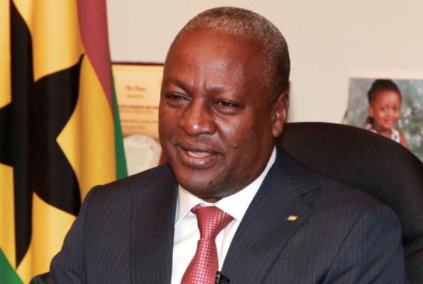 John Dramani Mahama, le président ghanéen