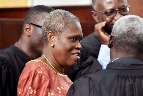 Simone Gbagbo et ses avocats