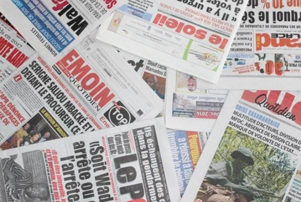 la presse sénégalaise