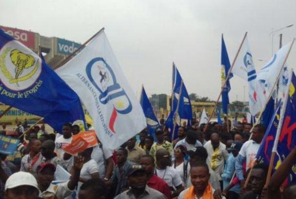 manifestation de l'opposition en RDC