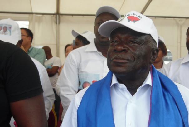 Jean Boniface Assele, président du CLR