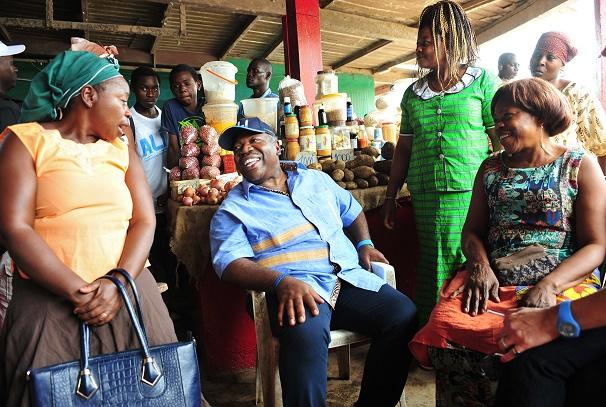 Ali Bongo Ondimba à Ndjolé