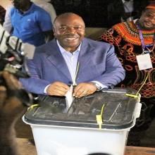 Ali Bongo Ondimba a voté