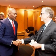 Bill Gates et Tony O. Elumelu