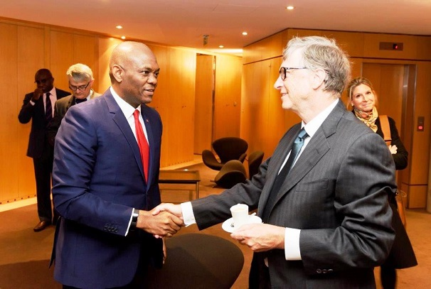 Bill Gates et Tony O. Elumelu