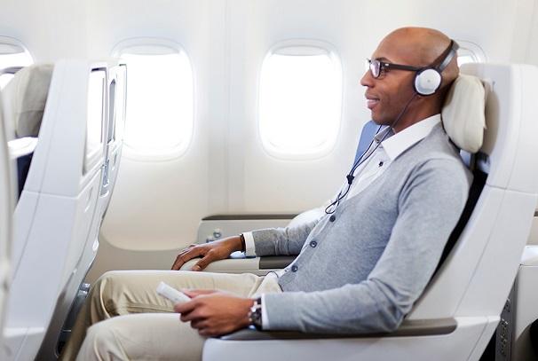 Air France, le confort à bord…