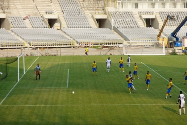 Le Gabon s'incline en match amical face au CF Mounana (photo gabonactu)