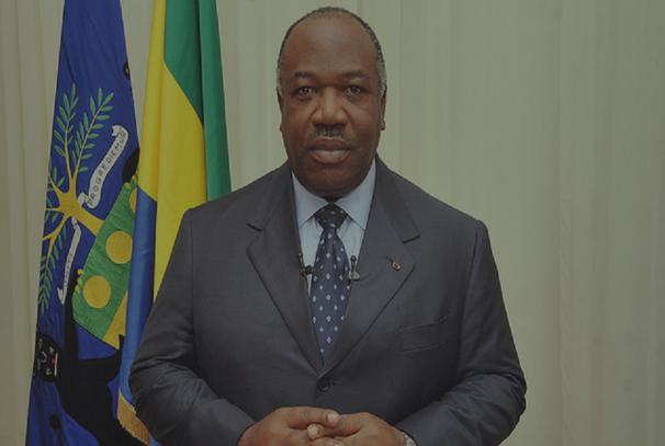 Le Président Ali Bongo Ondimba, voeux 2017