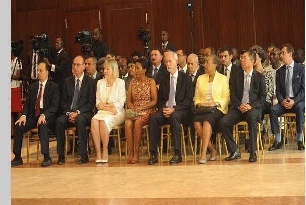 Le corps diplomatique accrédité au Gabon
