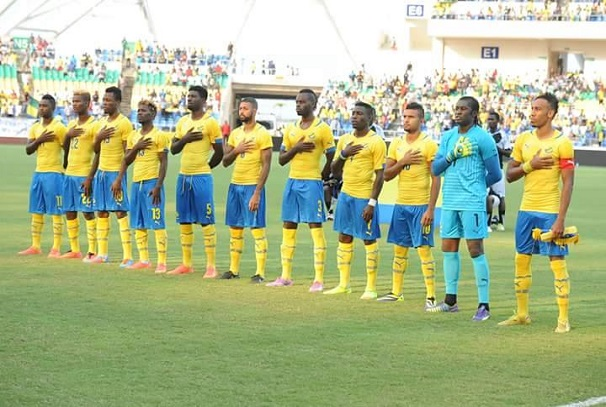 Les Panthères du Gabon au stade