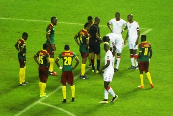 Match Cameroun - Burkina Faso
