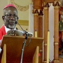 Mgr Basile Mvé Engone