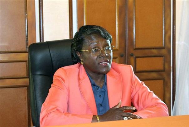 Nicole Assele, ministre gabonais des sports