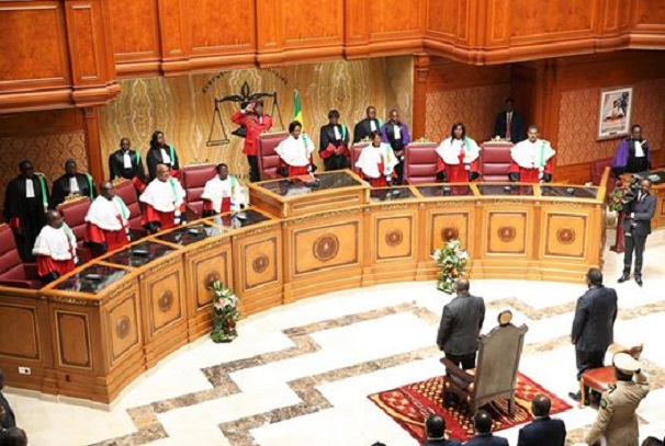 Rentrée de la Cour constitutionnelle du Gabon