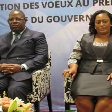 Voeux au Premier ministre gabonais, Emmanuel Issoze Ngondet