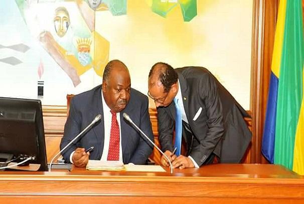 Le président du Gabon, Ali Bongo Ondimba