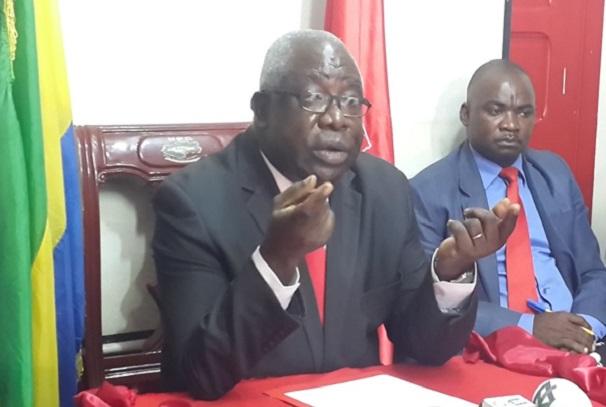 Mathieu Mboumba Nziengui, président de l'UPG
