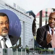 Michel Mboussou et Siméon Francis Ekogha (photo autre presse par DR)