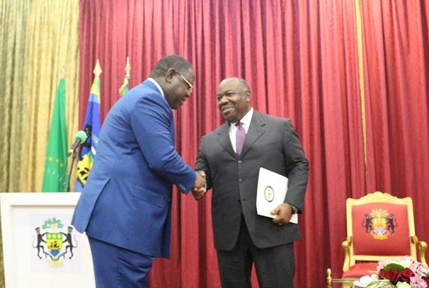Ali Bongo Ondimba a reçu le rapport de la commission ad hoc