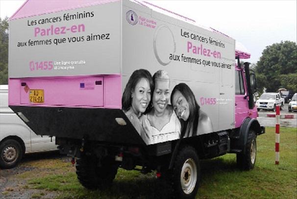 Lutte contre le cancer par la Fondation Sylvia Bongo Ondimba